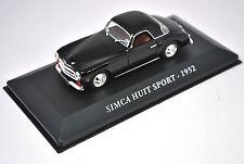 Voiture modèle réduit collection 1/43ème Simca 8 sport de 1952