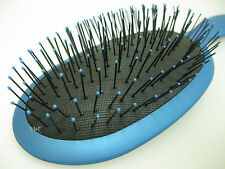 Big Blue Wet Hair Brush Gentle Soft Bristles Ouchless Brushing - No More Tears