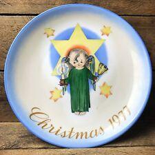 Hummel Schmid Christmas 1977 Plate - Herald Angel