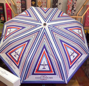 Umbrella Rain Protection Accessory Stylish Novelty Fast Shipping Chanel Airlines
