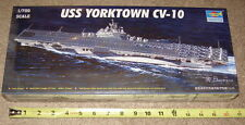 NEW Trumpeter 1/700 CV-10 YORKTOWN US Navy WW2 Aircraft Carrier