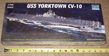 NEW Trumpeter 1/700 CV-10 YORKTOWN US Navy WW2 Aircraft Carrier