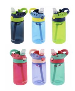 Contigo Kids Autospout Drink Water Bottle Straw Gizmo 14oz - 414mL, BPA Free