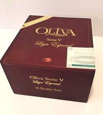 Wooden Cigar Box, Oliva Serie V, Liga Especial
