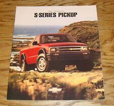Original 1995 Chevrolet Truck S-Series Pickup Sales Brochure 95 Chevy