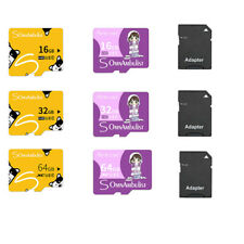 Memory Card 16GB 32GB 64GB SDHC TF Micro SD Card Class 10 With Free Adapter New