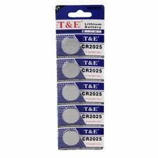 10 x CR2025 Battery Lithium 3V Cell Coin Button Batteries Watch Calculator T&E