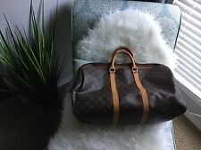 Louis Vuitton Bag Keepall 50 Travel Bag Weekender Handbag Duffel Authentic