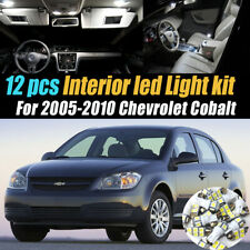 12Pc Super White Car Interior LED Light Bulb Kit for 2005-2010 Chevrolet Cobalt