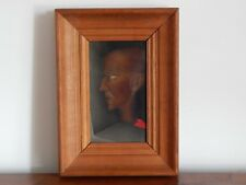 ANCIEN TABLEAU Huile sur Toile Portrait Signé PIERRE HENRY 1924 - 2015