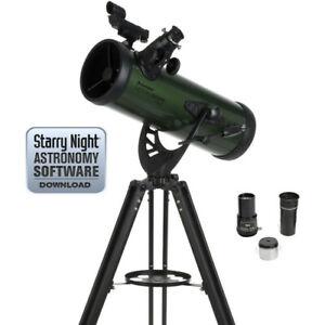 """Celestron ExploraScope 114AZ 4.5"""" f/8.8 Alt-Az Reflector Telescope"""