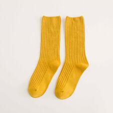 Women Girls Ankle Fancy Retro Cotton Ruffle Loose Stripe Fashion Short Socks