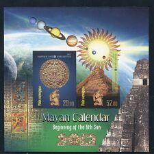 KIRGISIEN KYRGYZSTAN 2012 Maya-Kalender Mayan Calendar Astronomie Ungez. ** MNH