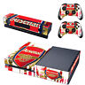 Arsenal Xbox One Console SKIN + 2 x Controller Stickers Decal FacePlate - Pad
