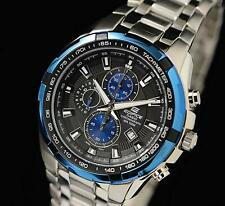 Casio Edifice Chronograph Quartz EF-539D-1A2 Mens Watch Stainless Steel Japan