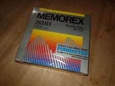 """Memorex 5.25"""" Floppy Diskettes 10 pack new 1.2MB discs 2S HD for DOS Computer"""