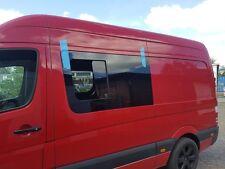 MB Sprinter 906 Schiebefenster Seitenscheibe Fenster Schwarz-glas NEU VW Crafter
