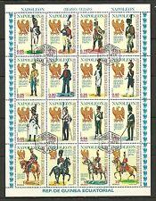 Guinea Ecuatorial - #54 - Napoleon, Napoleone (#2) - Sheet - Cpl - Used