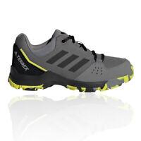 adidas Boys Terrex Hyperhiker Walking Shoes Grey Sports Outdoors Breathable