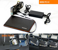 EXP GDC Beast Laptop External Independent Video Card Mini PCI-E W/ Power Supply