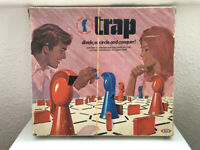 """RARE Vintage """"Trap"""" by Ideal Games 1972 and RARE Roundtable Knights Game inc."""