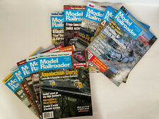 Model Railroader Magazine Lot of 10- Mixed Months 1995 (4 issues), 1996 (6 issu)
