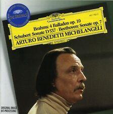 Arturo Benedetti Mic - Piano Works / 4 Ballades Op 10 / Sonata in A minor [New C