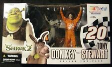 "McFarlane Nascar Donkey and Tony Stewart 2-Pack 6"" Action Figures New 2004"