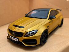 Mercedes C-Klasse AMG Coupe Prior Design in gold von GT Spirit 1:18 NEU in OVP