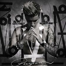 Justin Bieber Purpose Deluxe Edition Audio CD 0602547576439