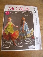 """PATRON """"McCALL'S TUNIQUE ASYMETRIQUE ET PANTY  TAILLE 2/3/4/5 ANS N°6732"""