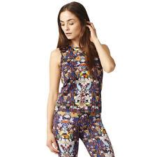 adidas Originals BOYFRIEND Tank Mary Katrantzou Womens Sleeveless Shirt UK 16 | EUR 44