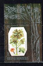 British Honduras Flora Cordia Tree stamp 1969 MNH
