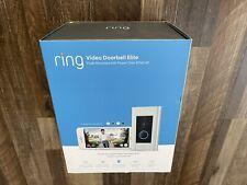 Ring Video Doorbell Elite - 8VR1E70EN0, Wired, Brand New, Sealed