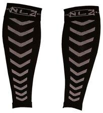 Size Medium: Pair of NLZwear Compression Calf Sleeves, Shin Splint Running Bikin