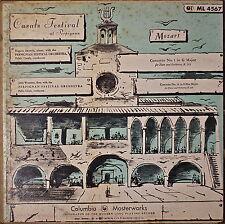 CASALS FESTIVAL AT PERPIGNAN, MOZART: Concerto No 1, no 14-NM1951LP ISOTOMIN