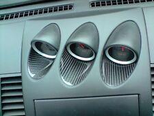 Carbon Einlagen Zusatzanzeigen Center Gauge Interieur passend für Nissan 350Z