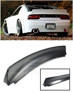 For 89-94 Nissan 240SX S13 Hatchback Bunny Style JDM Rear Trunk Lid Wing Spoiler