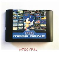 830 in 1 EDMD Remix Game Cartridge for SEGA GENESIS MegaDrive Console with Golde