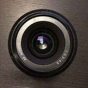 Nikon AF Nikkor Zoom 35-70mm f/3.3-4.5 Auto Focus Lens
