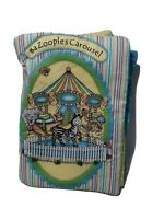 Bazoople Carousel Baby Soft-book & Fabric, Cotton , 10 pages