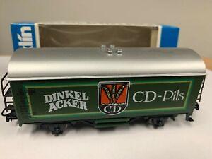 """Marklin 4436 """"Dinkel Acker"""" Beer Car. RARE!! NIB"""