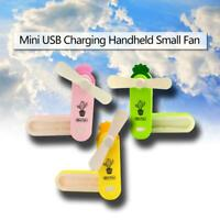 Cactus Outdoor Portable Folding Fan Mini USB Charging Handheld Small Cooler Fan