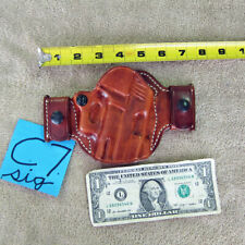 El Paso Saddlery leather 220 229 Sig Sauer pistol gun holster Barely used,