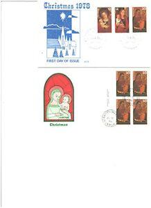 CHRISTMAS,SEASONS GREETINGS 1978 SCS Cachet,HAMILTON,WINNIPEG Cds. As per Scan