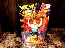 Diamond Dallas Page Signed WCW Action Figure 1998 WWE Wrestling Actor DDP Yoga