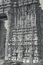 Antique print India porch pagoda temple Tripetty Madras Tripetty / stampa antica