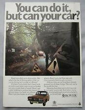 1970 Rover 2000 Original advert No.1