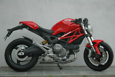 Ducati Monster 696 Ex-Box stainless steel QD exhaust system header-pipes &slipon