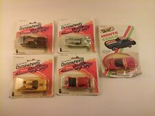 Lot of 5 Vtg Die-Cast Metal Cars ZEE TOYS 1983 DYNAWHEELS series 24550 & 1 Ja-Ru